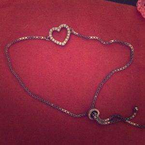 Steeling silver bracelet